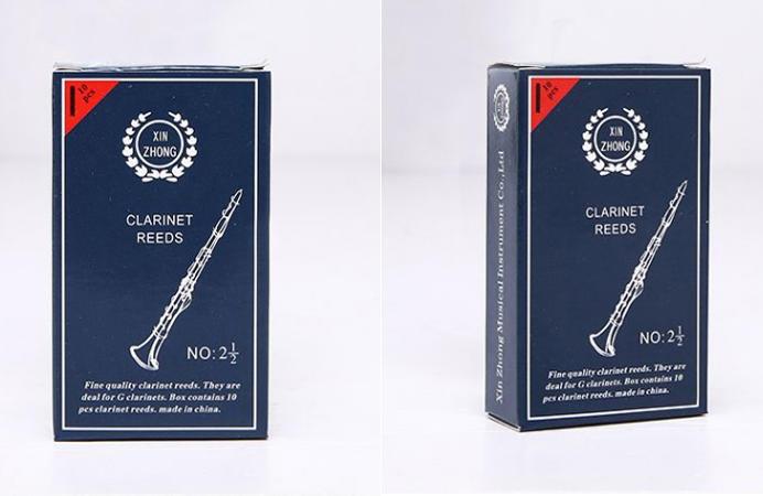 搶GO趣 一次一盒 10片 限量30盒【臺灣現貨】 黑管 單簧管 竹片 2號半 新忠 XINZHONG 2.5 獨立包裝 - 露天拍賣