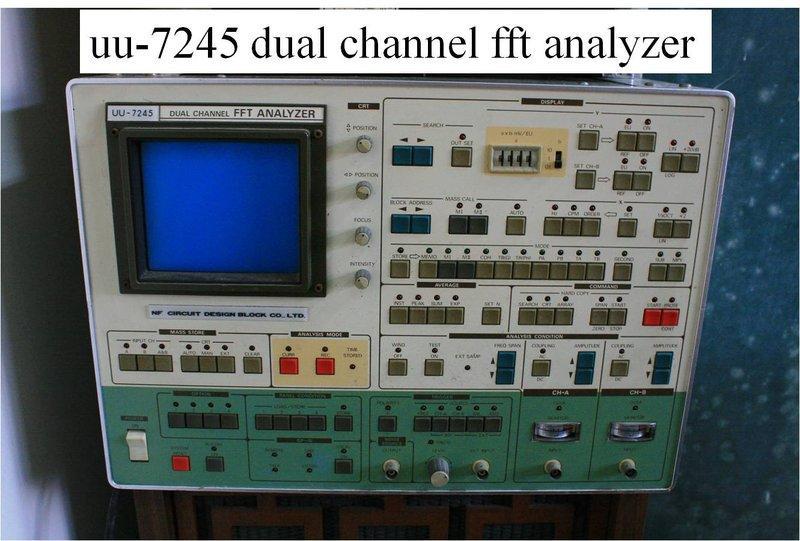 頻譜分析儀(UU-7245 FFT ANALYZER) - 露天拍賣