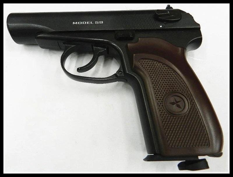 【原型軍品】全新 II 免運費 WG 馬可洛夫 MAKAROV CO2手槍 滑套可動 黑色 - 露天拍賣
