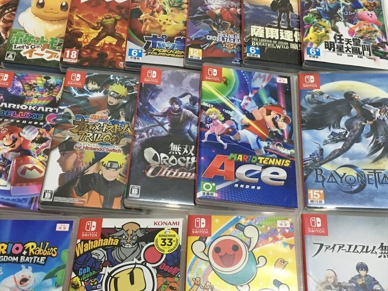 大臺北3C收購工作室 任天堂 Nintendo switch 遊戲片 主機、其他遊戲主機高價收購 - 露天拍賣