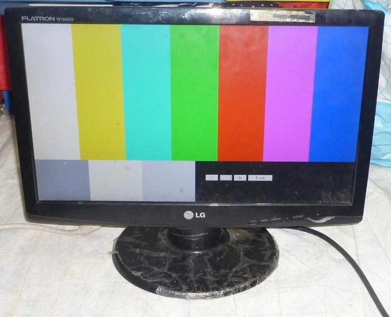 LG,W1943SS維修顯示器新店區LCD液晶螢幕維修修理紅燈一直閃爍不開機無畫面開關要多開幾次才會成功一閃即滅 ...