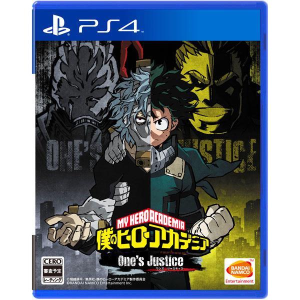 【我家遊樂器】8/23發售預定 PS4-我的英雄學院 一人的正義 通常版日版 - 露天拍賣