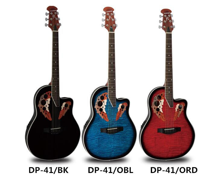 卡瑪拾音器黃貫中ovation款 葡萄孔吉他單板電箱吉他超薄單板 - 露天拍賣