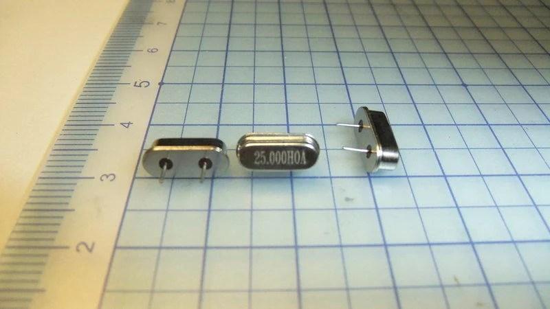 石英振盪器 25MHz 晶體震蕩器 石英振盪器 - 露天拍賣