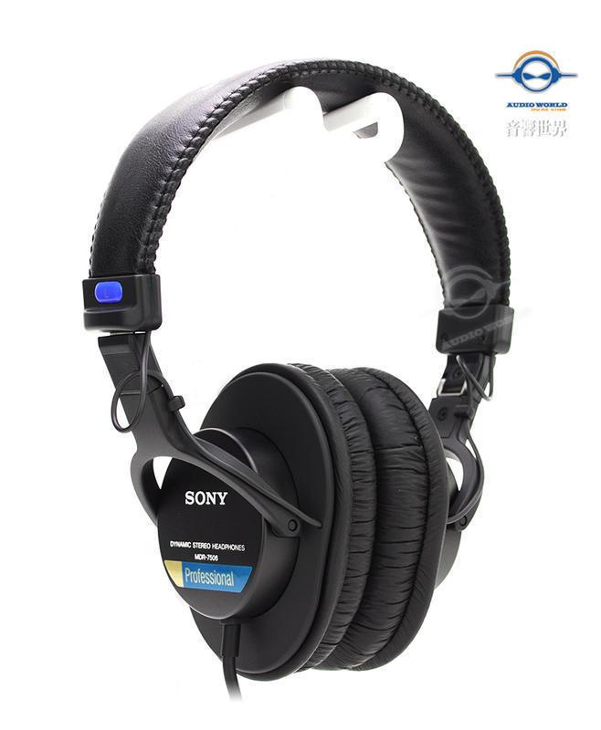 音響世界二館。日本SONY MDR-7506最經典專業監聽耳機》(含稅保固)-全新到貨 | 露天拍賣