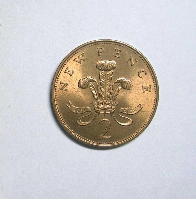 【全球硬幣 】英國錢幣 England 1971年 2 Pence大硬幣 2便士 AU - 露天拍賣