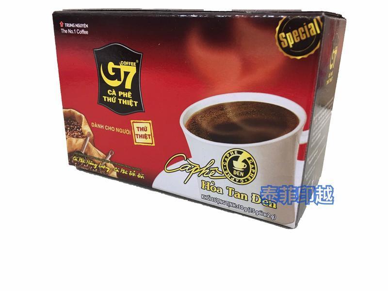 {泰菲印越} 越南 G7 黑咖啡 15入 - 露天拍賣