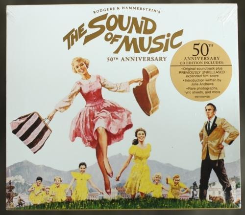 《真善美》電影原聲帶 (美國五十週年精裝紀念版)The Sound of Music全新美版 - 露天拍賣