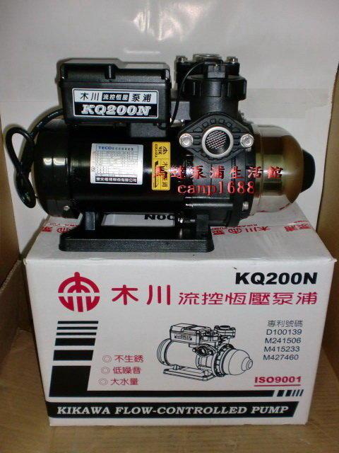 木川泵浦 KQ200N 1/2HP 電子穩壓加壓機 低噪音 電子恆壓機 KQ-200N 東元馬達 安靜 - 露天拍賣