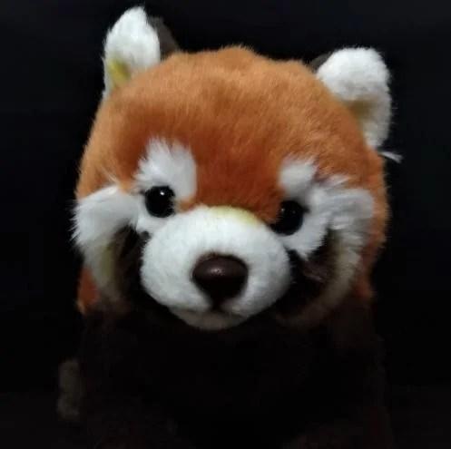 【那間模型】50公分 仿真 柔軟 小熊貓 小貓熊 小浣熊 貍貓 娃娃 絨毛 玩具 模型 生日禮物 - 露天拍賣