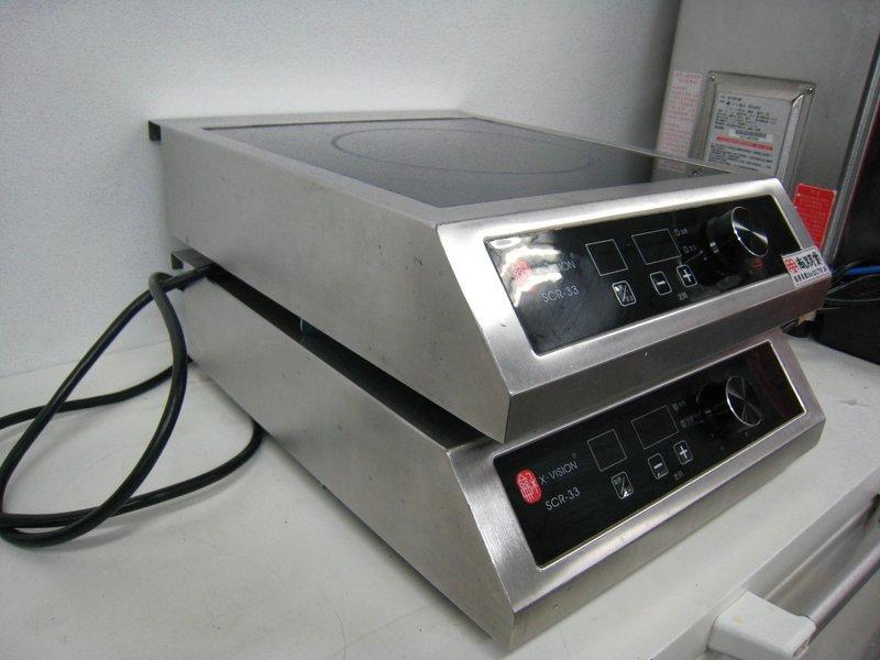 **通達冷凍空調餐飲設備**已售出.中古220V商用高功率尚龢堂電磁爐(SCR-33)旋鈕式.二手營業用強力微波爐 - 露天拍賣