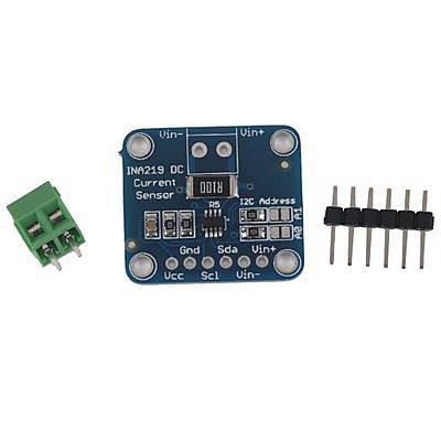 MCU-219 INA219 I2C 介面零漂移 雙向電流 電源監控感測器模組 W7 [264946]   露天拍賣