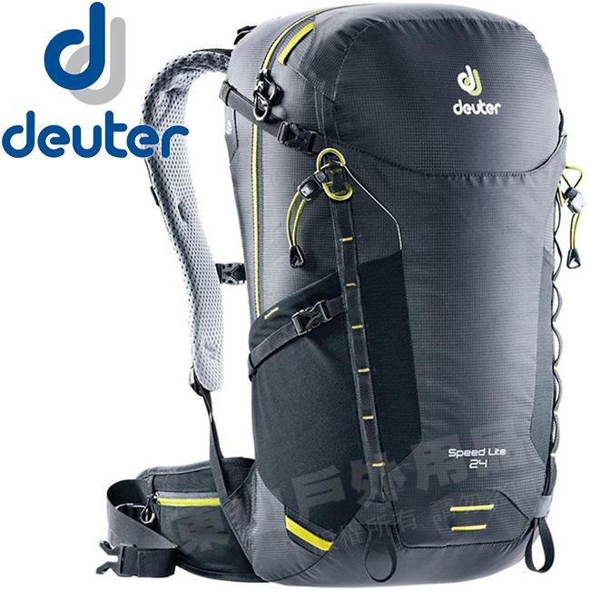 Deuter 3410418_黑色 Speed Lite 24L輕量透氣背包 健行包/單車後背包/自助旅行包 - 露天拍賣
