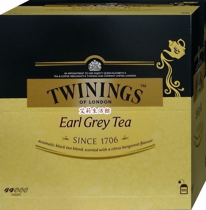 【艾莉生活館】COSTCO TWININGS英國皇室御用茶 皇家伯爵茶 紅茶茶包2g×100入 - 露天拍賣