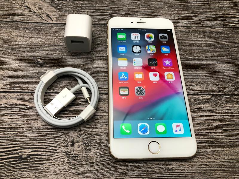 Apple iphone 6 plus (i6+) 金 16G MGAA2TA/A a1524 - 露天拍賣