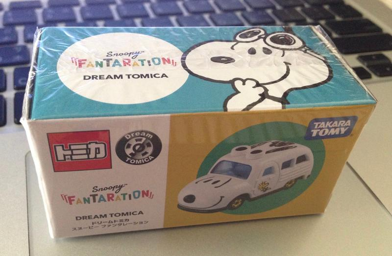 TOMICA SNOOPY 東京松屋銀座 史努比展限定 FANTARATION - 露天拍賣