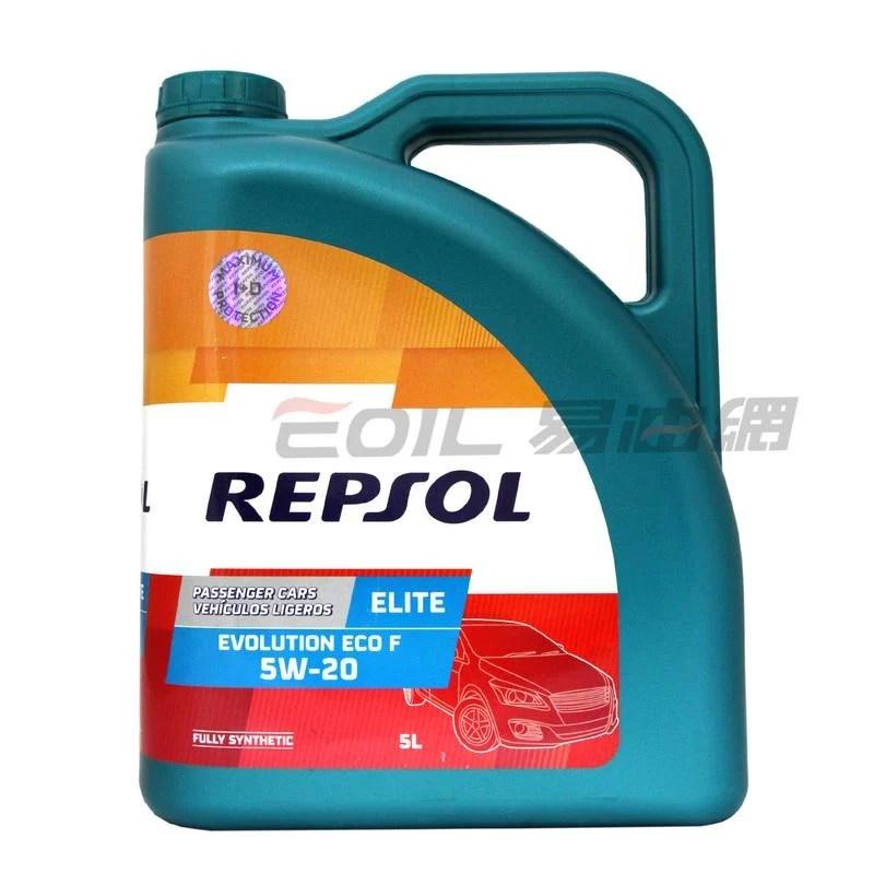 【易油網】REPSOL ELITE EVOLUTION ECO F 5W20 5W-20全合成機油 948B 5L - 露天拍賣