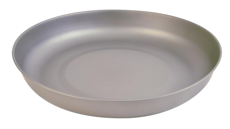 【【蘋果戶外】】KT-28 犀牛 RHINO 輕巧鈦合金餐盤 附黑色網布收納袋 19*2.9cm 61g KT28 - 露天拍賣