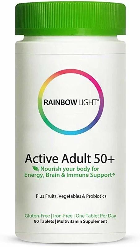[預購] 綜合維他命 銀髮 90片 Rainbow Light Active Adult 50+ - 露天拍賣