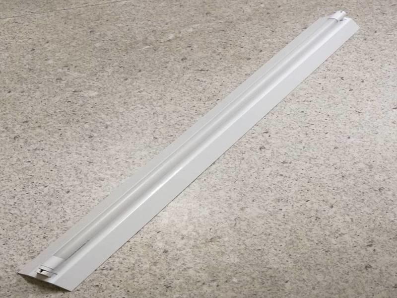 [諾亞節能] 山型4尺單管日光燈座組(含T8 4尺 玻璃纖維燈管) LED日光燈管熱賣中 - 露天拍賣