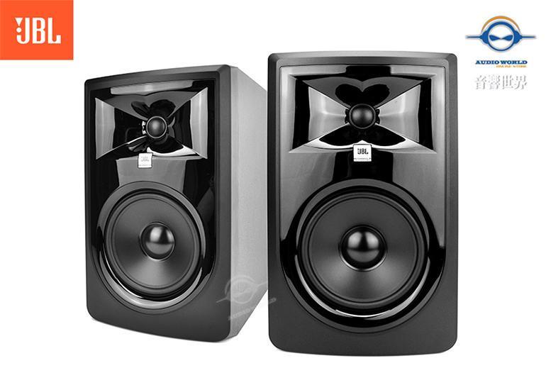 音響世界:JBL 306P MKII新3系6.5吋112W主動式監聽喇叭/附美製訊號線+MoPad墊(公司貨)售完補貨中 - 露天拍賣