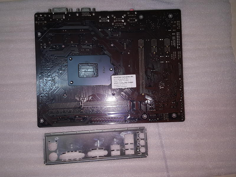 良品-華碩B85M-K,1150腳.BIOS最新,電池新,一切正常保40天.全固態,USB3.0見說明 | 露天拍賣