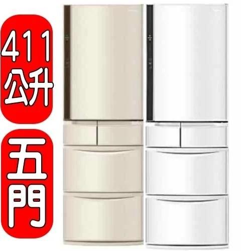 Panasonic國際牌【NR-E412VT-N1/W1】五門冰箱(不參加原廠贈品活動) - 露天拍賣