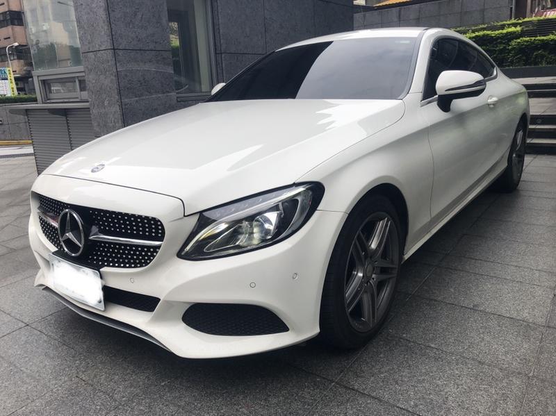 中華賓士 M.Benz C180 雙門跑車 W205 / Coupe 2017款式 車美價優! - 露天拍賣