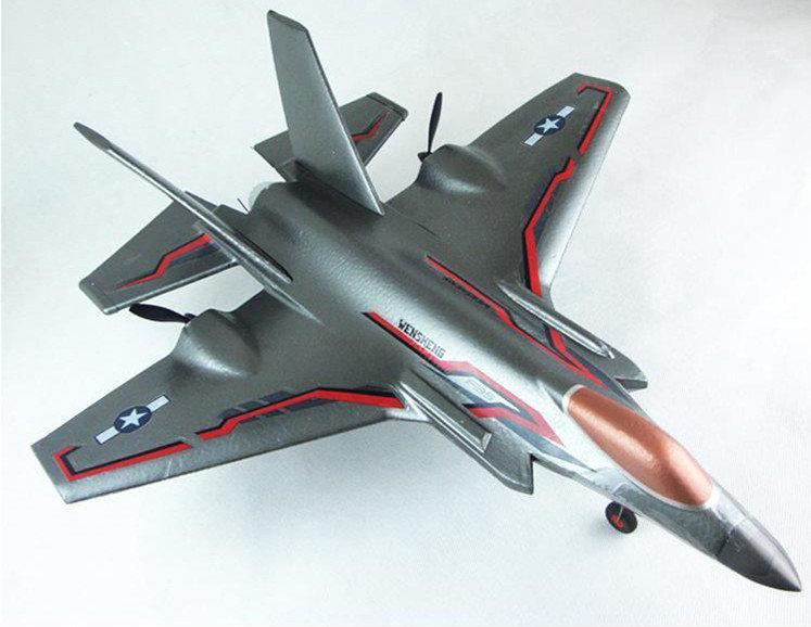 F35戰鬥機航模充電超大固定翼300米遙控滑翔機玩具遙控飛機模型 - 露天拍賣