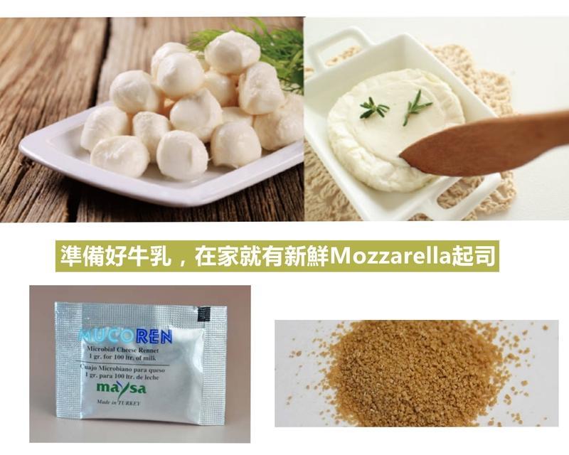 日本熱賣 植物性微生物 凝乳酵素 凝乳酶 Rennet 自己做起司就是這麼簡單又省錢 每次只要6.2元 - 露天拍賣