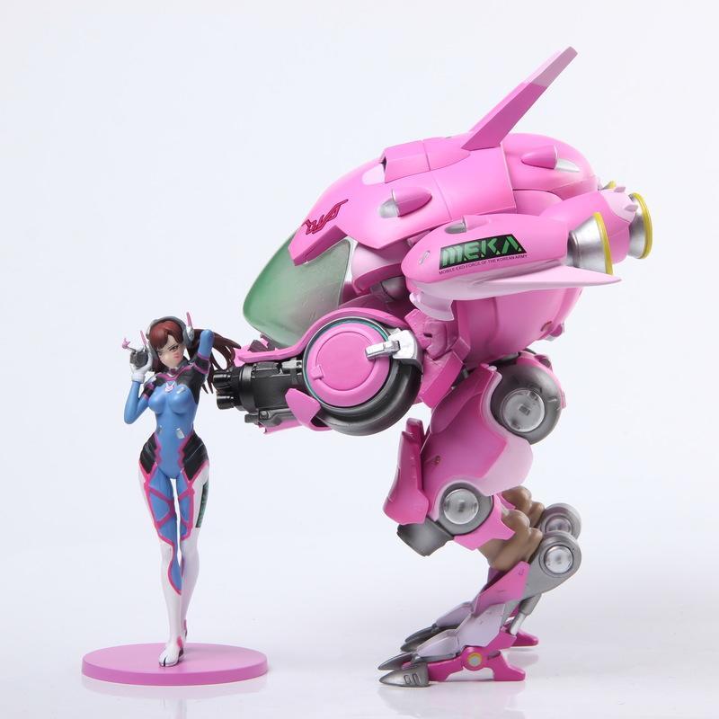 【 7日鑑賞】守望先鋒 Overwatch D.Va 宋哈娜 機甲 港版 - 露天拍賣