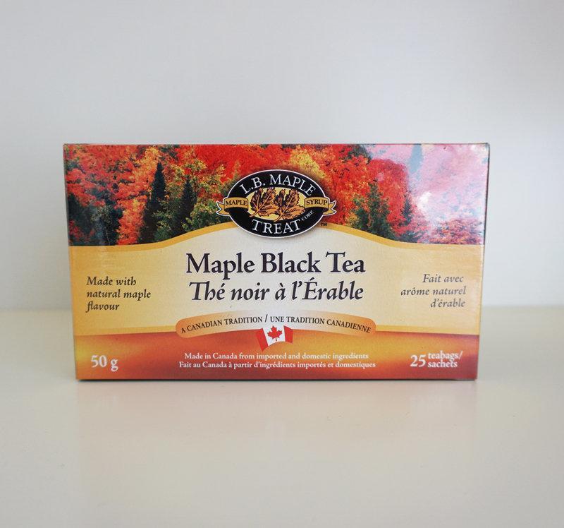 ★現貨★ 加拿大 原裝進口 L.B. Maple Treat 楓葉茶 楓葉 紅茶 Maple Black Tea - 露天拍賣