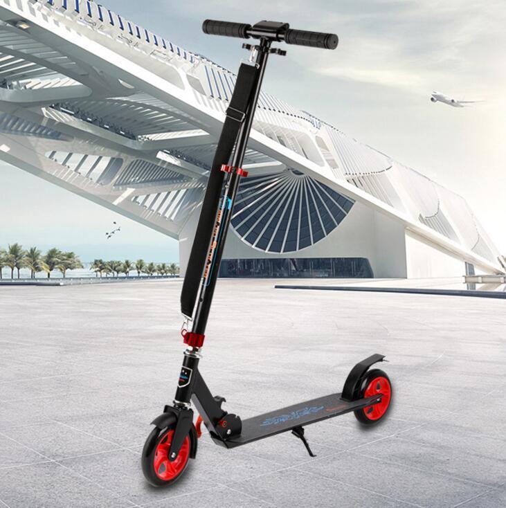 JL-D008鋁合金滑板車 可折疊 成人滑板車 二輪 城市代步車 腳踏滑板車12833 - 露天拍賣