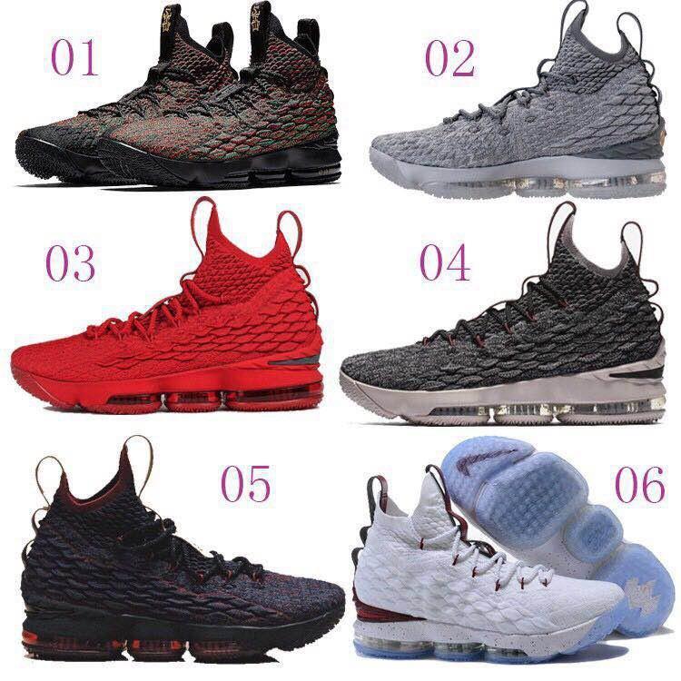 Nike Lebron LBJ15 籃球鞋 詹姆斯15代籃球鞋 耐吉 全掌氣墊 球鞋 運動鞋 James 慢跑鞋 香檳金 - 露天拍賣