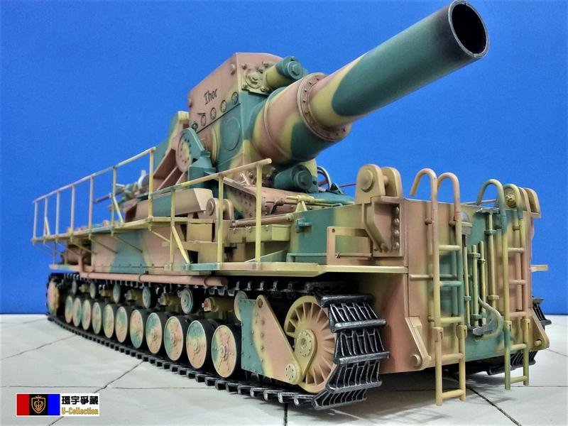 [環宇爭藏] 1/35 二戰德軍 540mm 卡爾自走臼砲車(Mörser Karl) (後期型) 完成品 現貨   露天拍賣