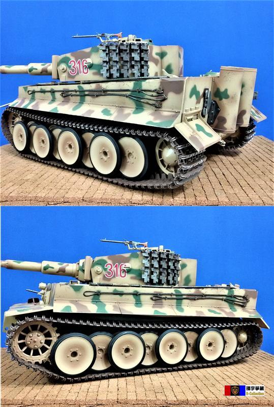 [環宇爭藏] Merit 1/16 二戰德軍虎 I 式戰車(中期型) 靜態模型完成品 庫爾蘭(Kurland)戰役 現貨 - 露天拍賣