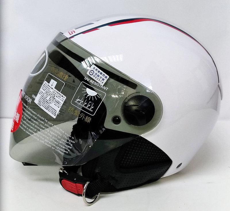 EVO JB-200 LAUS 白 造型安全帽 - 露天拍賣