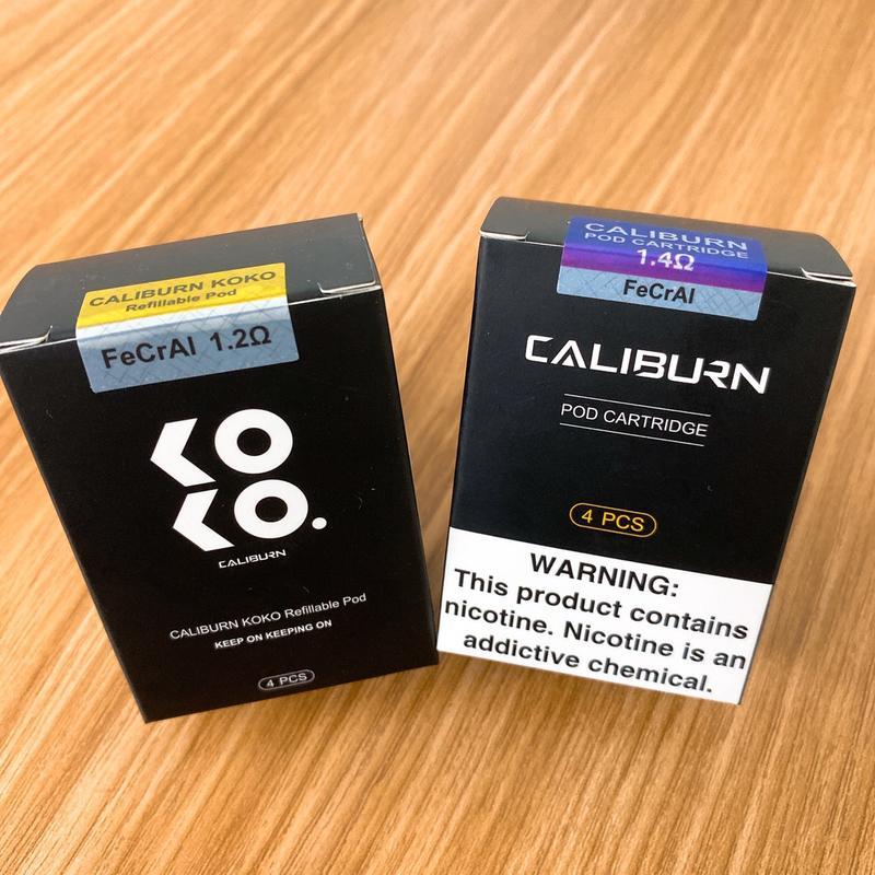 【迷霧蒸氣】原廠正品Uwell Caliburn石中劍/Koko共用芯 專用空彈夾1盒4入煙彈菸彈 【AFA98】 - 露天拍賣