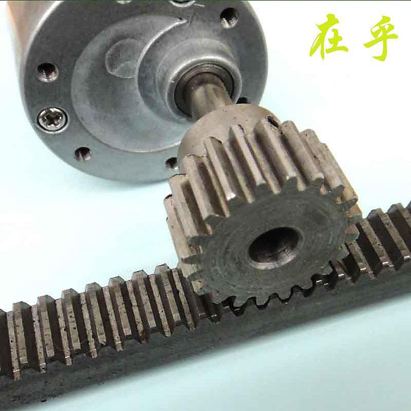 5mm孔M1模數鋼齒輪 金屬齒輪 568mm孔 齒輪齒條傳動組 diy模型大扭力 - 露天拍賣
