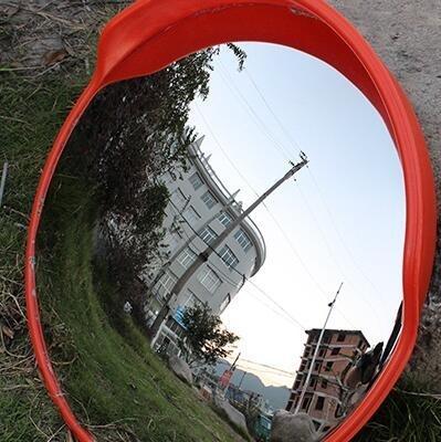免運 60cm 室外交通廣角鏡凹凸鏡道路球面鏡轉角彎鏡凸面防盜鏡 -聚寶創意館 - 露天拍賣