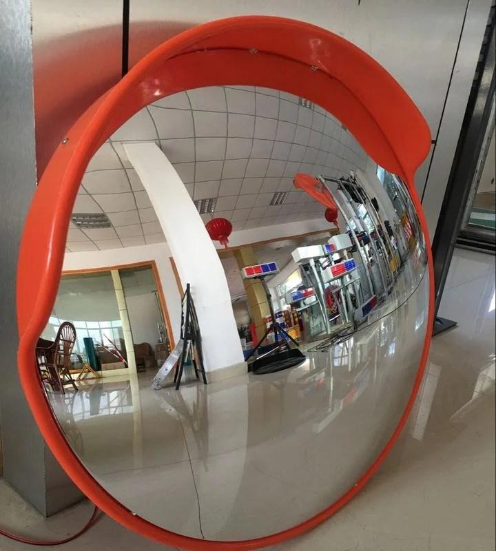 交通廣角鏡80cm道路反光鏡凸球面鏡轉角彎鏡凸透鏡凸鏡防盜鏡--藍品優品 - 露天拍賣