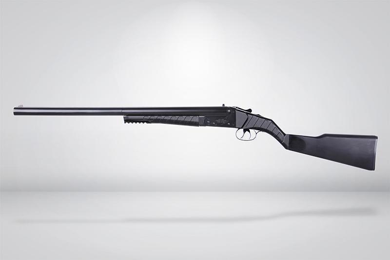 【武雄】FS華山3D昇級版 0521長版 雙管散彈獵槍 瓦斯槍 黑色-24RST-FS0521L-BK - 露天拍賣