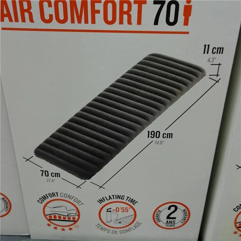 迪卡儂露營氣墊床 單人雙人午休車載戶外家用充氣床墊QUECHUA CPY - 露天拍賣