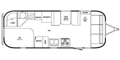 2008 Airstream Safari 25SS Trailer : Reviews, Prices and