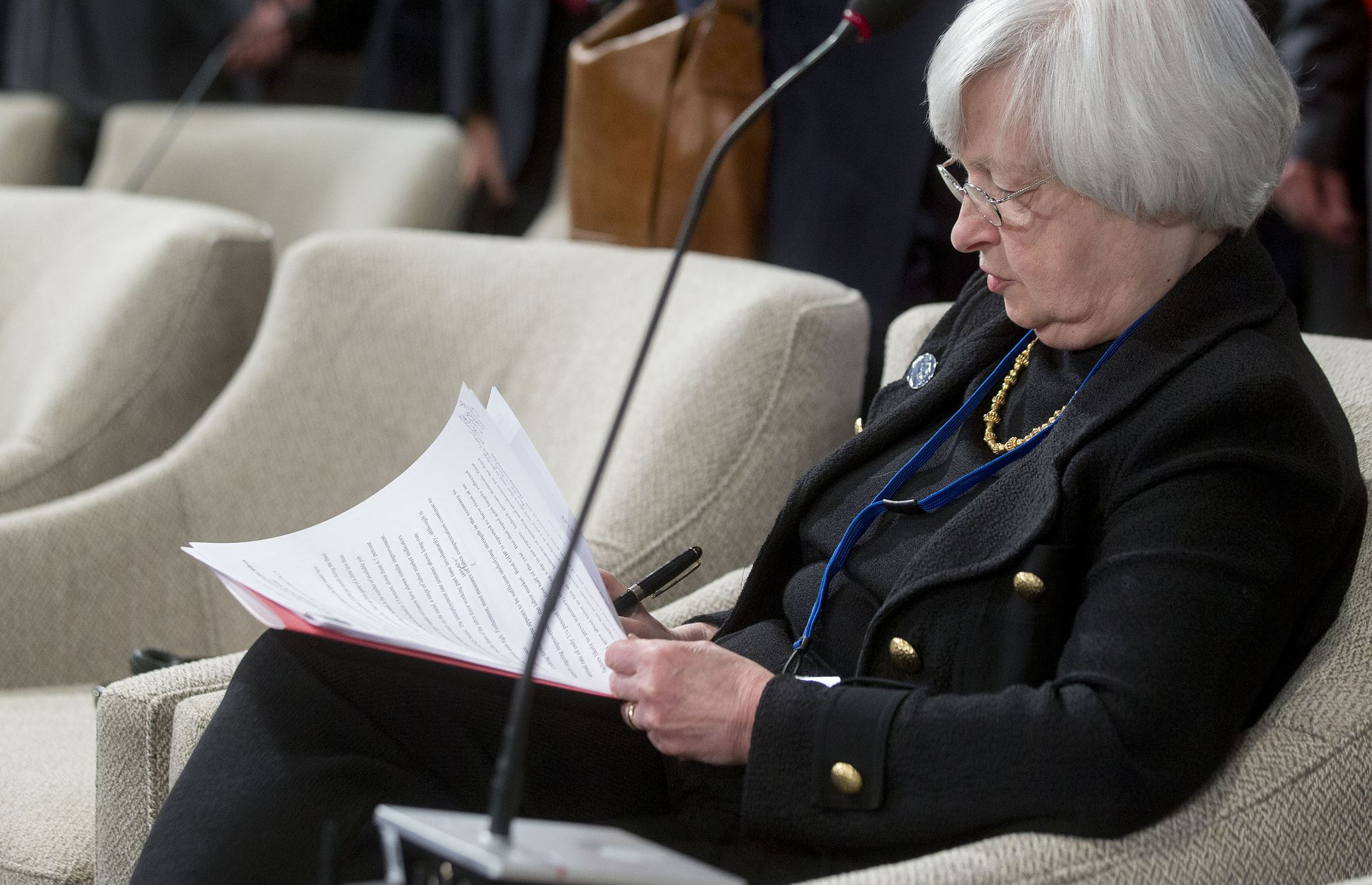 """<p>Federal Reserve Chair Janet Yellen said she's """"greatly"""" concerned by the most sustained rise in U.S. wealth and income inequality since the 19th century, while declining to offer any policy prescriptions. </p>"""