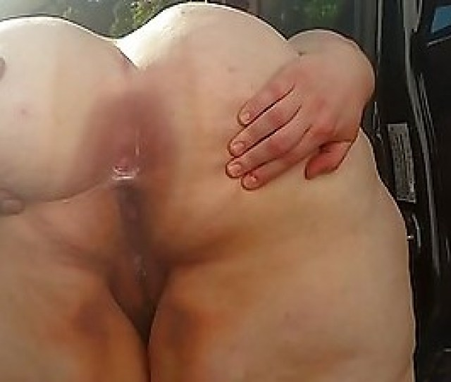 Ssbbw V Ass And Creampied Hairy Pussy
