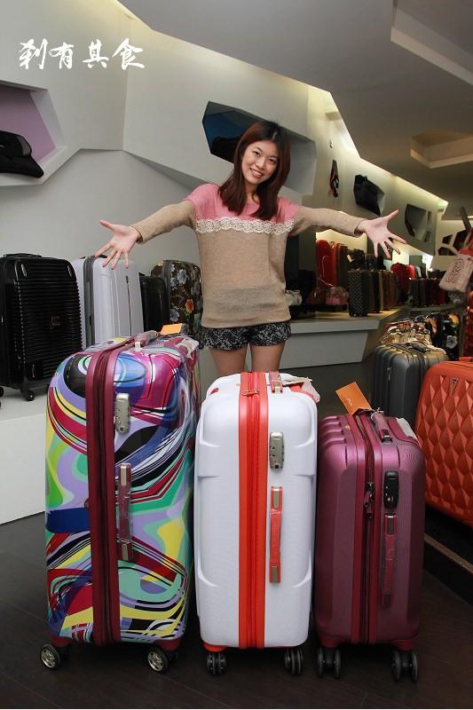 [旅行箱推薦] C.Y.luggage (振宇旅行箱) @平民版RIMOWA 100%PC材質又輕又耐用 (2016.10月更新)