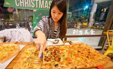 [台中豐原美食] 披薩工廠豐原店 @工廠風裝潢再度進化 平價好吃親子餐廳好選擇