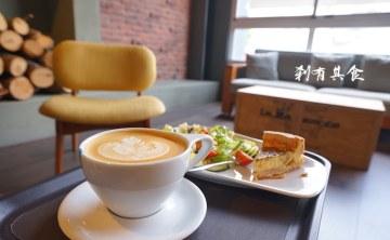 [台中咖啡] 冰河咖啡 @北歐風裝潢有家的感覺 咖啡跟鹹派還不錯 (6月有週年慶活動)