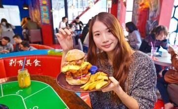 【台中漢堡推薦】 All-in Burger 飽庫 @隱身在一中商圈巷弄裡的好吃手作漢堡店 我的漢堡魂都燃燒啦!